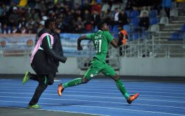 CHAN 2018: Faleye's strike sends Nigeria to Group C summit
