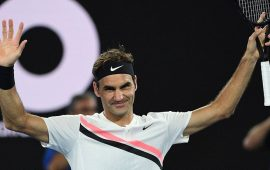 Aussie Open: Roger Federer makes history in Melbourne