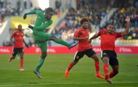 CHAN 2018: Okechukwu strike lifts Nigeria over stubborn Angola