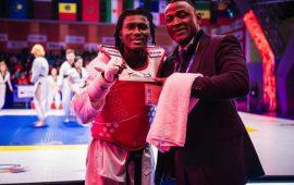 Ruth Gbagbi claims gold at World Taekwondo Grand Slam