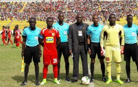 Valentine Promo? Referee awards five penalties in Asante Kotoko's CAFCC win