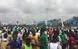 Lagos Marathon: East Africans dominate, 8-year-old runs 10km