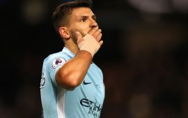 PL: Four-star Aguero sinks Leicester, Swansea win again