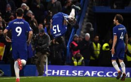 PL: Moses on target as Chelsea rout West Brom