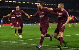 Champions League: Barca hold Chelsea, Bayern hit Besiktas for five