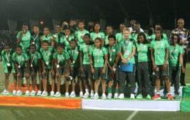 AWCON: Oshoala, 9 other pros for Gambia clash