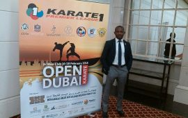Karate: Nigerian Referees at Premier League in Dubai