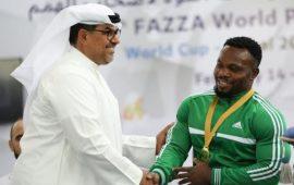 Para Powerlifting: Nigeria's Kehinde breaks World Record