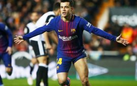 Copa del Rey: 'happy' Coutinho on target as Barca book final spot