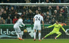 PL: Son's double move Spurs third, Swans hammer West Ham