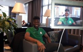 I am not mad, says Eagles goalkeeper Uzoho