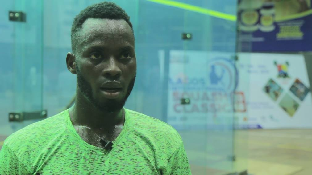 I'm not playing Squash because of money says Olarenwaju