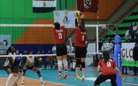 Volleyball: Al Ahly defeat Nigeria Customs