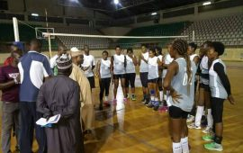 Volleyball: Nigeria Custom Service club leave for Cairo