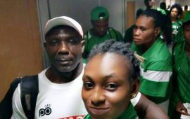 C/Wealth Games: First Batch of Team Nigeria arrive Gold Coast
