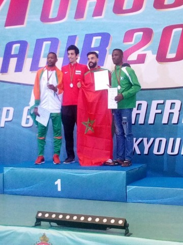 Olowookere wins bronze at African Taekwondo Championships