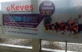 Port Harcourt Sports Club holds Swimming Classics for kids