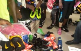 C/Wealth Games: NWF presents wrestlers with Nike Kit