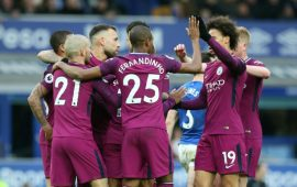 EPL: Man City close in on PL title with record win