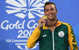 Chad le Clos opens swimming academy in Cape Town, SA