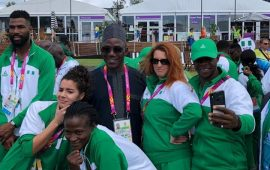 Dalung drums support Team Nigeria at the Games