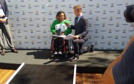Commonwealth recognise Nigeria's Powerlifter, Esther Oyema