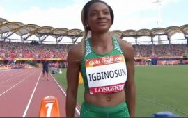 "C/Wealth Games: Nigerian sprinter Igbinosun ""disappears"".."