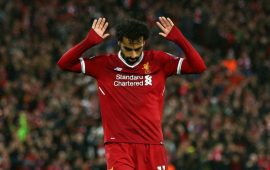 UCL: Mo goals as Salah inspired Reds rout Roma