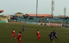NPFL: Effiong's strike hands Warriors first away win