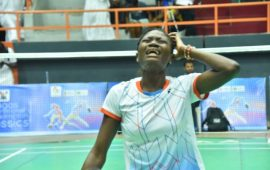 Badminton: Dorcas Adesokan  for training tour in Denmark