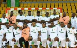 Handball: Nigeria male senior team disbanded