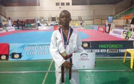 Elijah Agada: I started Taekwondo at the age of 4