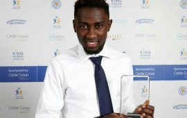 EPL: Ndidi named Leicester young player of the year