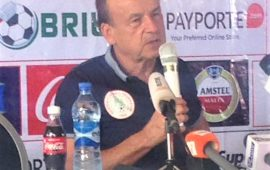AFCONQ: Gernot Rohr tasks NFF on good pitch against Libya