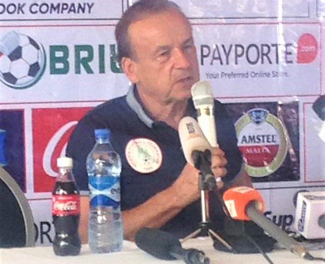 AFCONQ: Gernot Rohr tasks NFF on good pitch against Libya