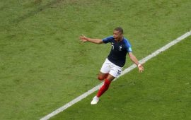 Russia 2018: Mbappe happy to achieve Pele's feat