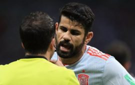 Russia 2018: Diego Costa powers Spain home