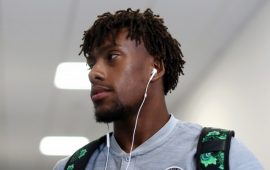 ICC: Alex Iwobi on parade as Arsenal thrash PSG