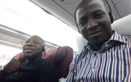Rusian Diary 1: African nuisance at best airport
