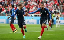 Russia 2018: Mbappe's goal enough as France progress
