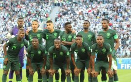 Nigeria drop in the latest FIFA/Coca-Cola ranking