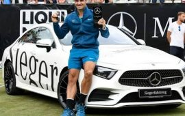 Federer marks world number 1 with 98th title in Stuttgart
