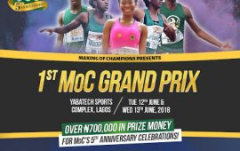 MOC Inaugural Grand Prix Holds In Lagos