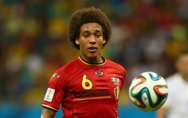 Russia 2018: Axel Witsel hopes to finish on a high