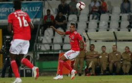EiE: Tyronne Ebuehi debuts for Benfica