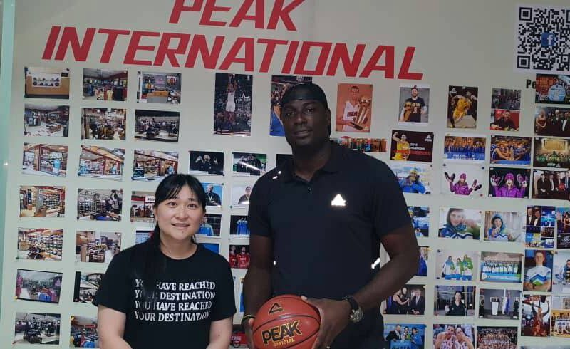 Oyedeji becomes first PEAK Sports Ambassador in Africa