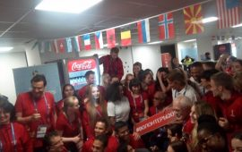 FIFA thanks Volunteers for changing Russia's image