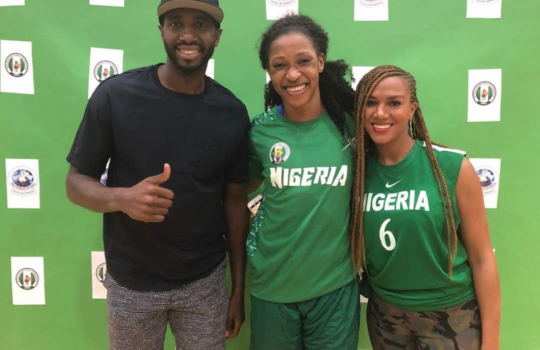 NBA broadcaster Gold-Ogwude visits D'Tigress camp