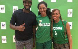 NBA broadcaster Gold-Ogwude visits D'Tigress camp
