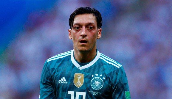 Mesut Ozil retires from international football